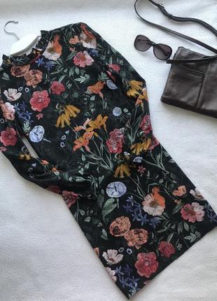 🌿большой выбор платьев 👗легкое платье с рукавом