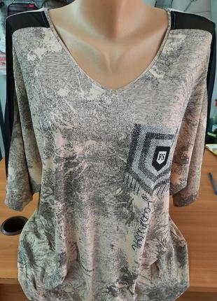 Блуза большого размера!!! 🌹🥀🌺