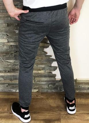 Спортивные штаны nike airmax антрацит