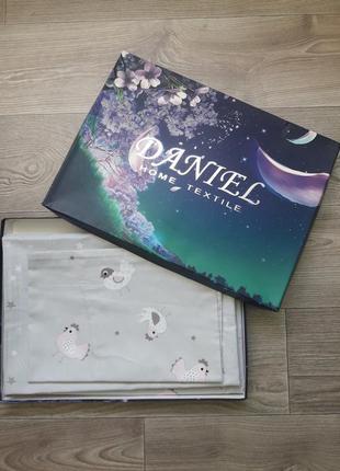 Комплект постельного белья детский vip luxe сатин daniel home textile