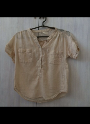 Рубашка короткая bershka s