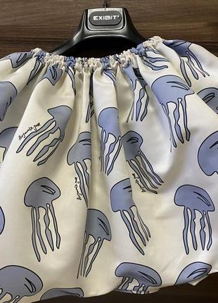 Пышная юбка с медузами au jour le jour