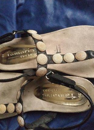 Босоножки, сандалии  tamaris, размер 39