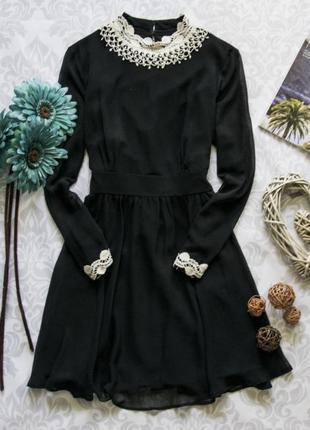 Красивое платье с воротником m&s
