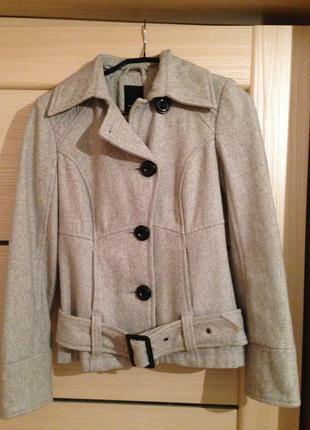 Пальто шерстяное vero moda