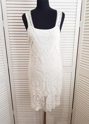 Кружевное платье сарафан pimkie