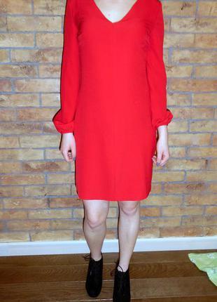Платье красное befree