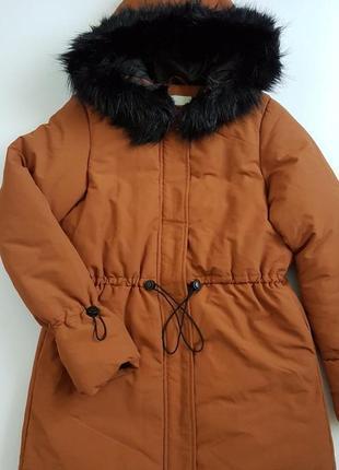 Куртка парка pieces розмір хs