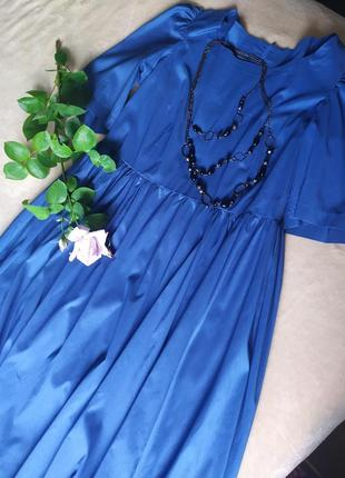 Платье свободного кроя💙👒19