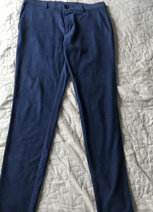 Синие мужские брюки zara