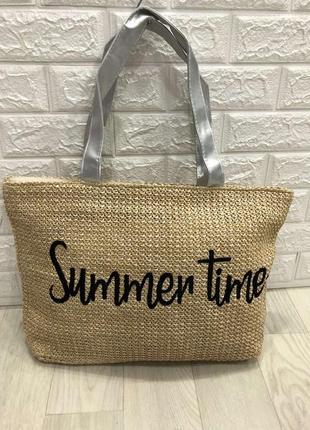 Пляжная сумка, соломенная сумка sammer