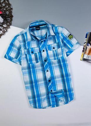 Рубашка тенниска на 8-10 лет/134-140 см