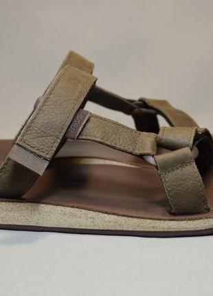 Шлепанцы teva universal slide leather сандалии босоножки мужские оригинал 46-47р/31см