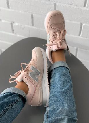 Очень стильные женские кроссовки new balance 574