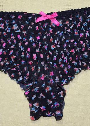 Трусы-шорты accessorize в цветочный принт
