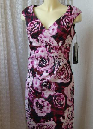 Платье элегантное миди vera mont р.46 №7444