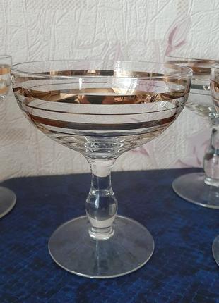 Набор-бокалы для шампанского,вина,мартини,коктейлей, креманки