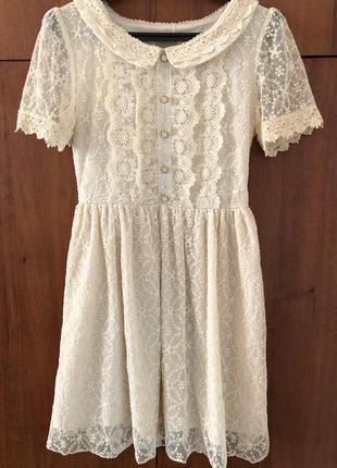Ніжне літнє плаття, нежное летнее платье