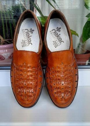 """Мягкие легкие летние туфли """" rieker """"! германия. 41 р. 26,5 см."""