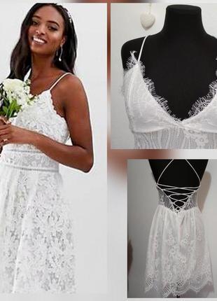 ..роскошное, кружевное белое платье для особого случая, гипюровое, супер качество!!!