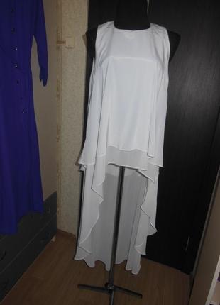 Божественная шифоновая блуза с шлейфом river island