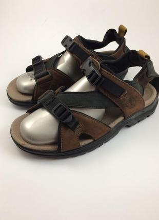 Timberland кожаные босоножки сандалии оригинал