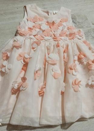 Ніжне прекрасне плаття з 9 д ефектом