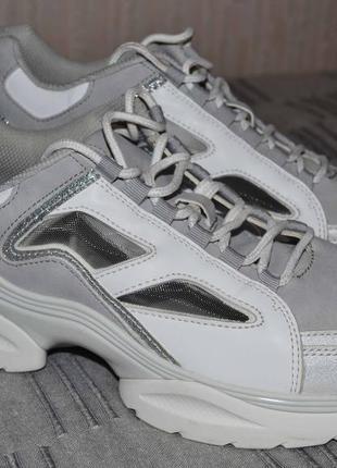 Стильные кроссовки zara 41 размер, 27 см стелька