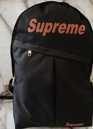 Городской, спортивный рюкзак supreme   размер 28*43