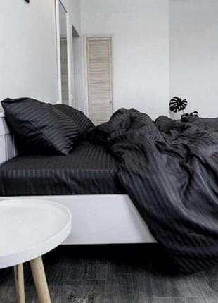 Страйп-сатин постельное бельё люкс турция