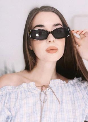 С футляром винтажные солнцезащитные очки ретро коллекция 2020 вінтажні окуляри