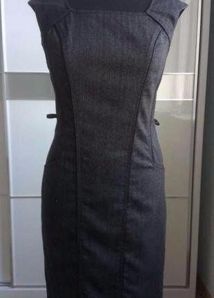 Next платье карандаш футляр офис сарафан s- м
