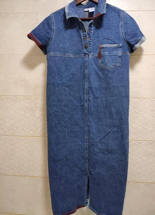 Джинсовое платье для беременной на начальных сроках, л-хл, 450 грн