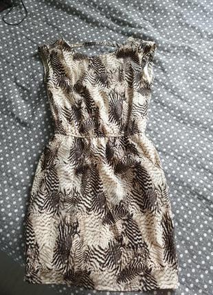 Платье в принт reserved