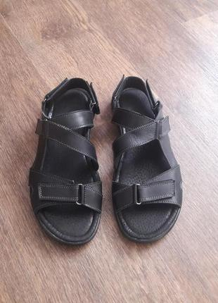 Мужские сандалии натурал.кожа р.40-47