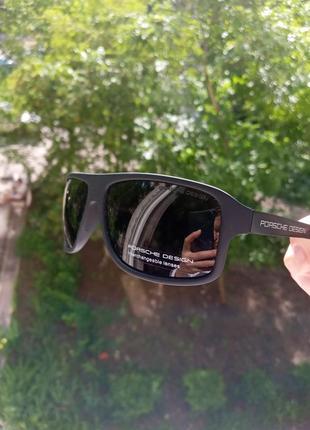 Porshe design polarized италия унисекс крутые стильные очки
