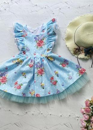 Очаровательное платье из хлопка