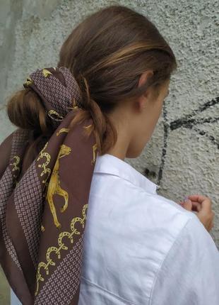 Платок хустка с принтом