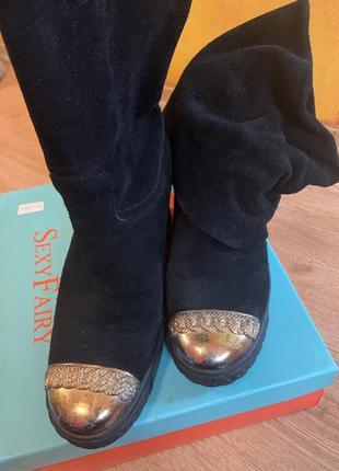 Сапоги-ботинки casadei