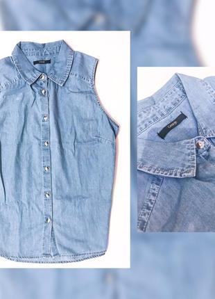 Рубашка безрукавка  george 100% хлопок