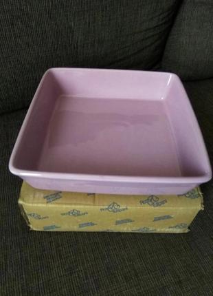 Форма для запекания керамическая, 24,5*24,5 см rosetulipani, италия