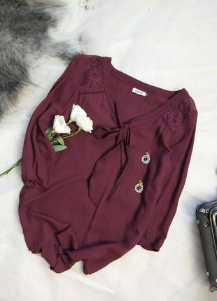 Стильная брендовая блуза состояние новой