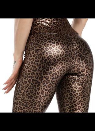 Новые тигровые леопардовые лосины