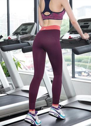 Спортивные лосины для фитнеса, кода:1114, леггинсы для спорта, одежда для бега, для йоги