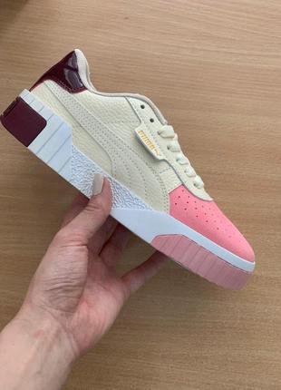 Puma cali женские стильные кроссовки