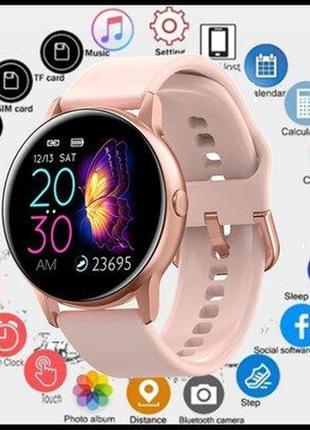 Умные часы smart dt88 metal с измерением артериального давления