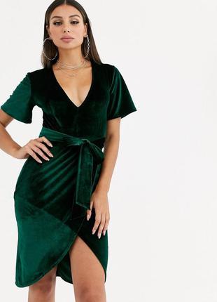 Бархатное платье club l