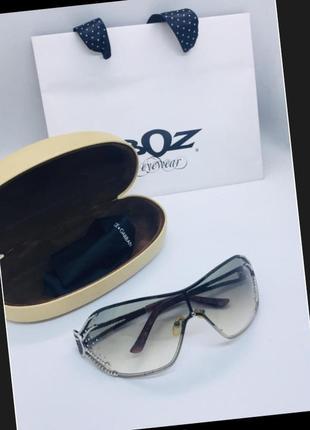 Суперовые trussardi нат стразы swarovski оригинал очки купила в италии
