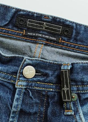 Stone island w32 оригинал джинсы мужские синие винтажные