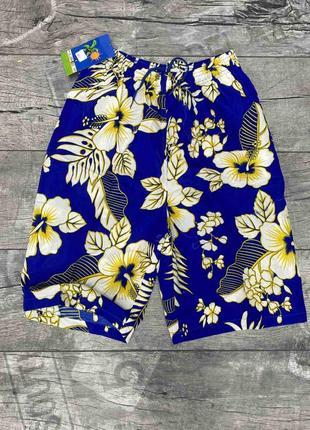 Мужские пляжные гавайские шорты